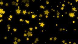 Mov171 particle star loop alpha 06 CG動画