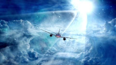 Plane Footage Animation