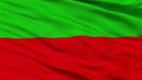 Khmers Kampuchea-Krom Federation Micronation Isolated Waving Flag Animation