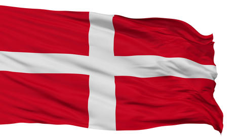 Sovereign Military Order of Malta Religious Isolated Waving Flag Animation