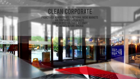 Corporate Clean Intro - Company Slideshows After Effects Template