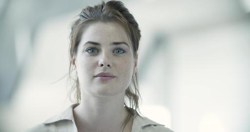 Portrait of female executive Live Action