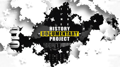 Historical Documentary Project - 4K After Effects Template