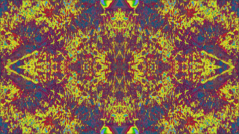 Digital psychedelic futuristic futuristic shimmering kaleidoscope Live Action
