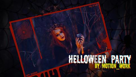 Halloween Intro & Slideshow Plantilla de After Effects