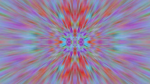 Casual psychedelic neon sci-fi iridescent pattern Live Action