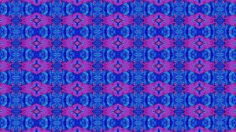 Seamless casual geometrical sci-fi iridescent kaleidoscope Live Action