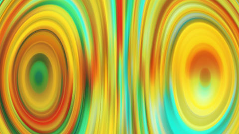 Psychedelic CG Animated Background,Abstract Curved Shapes Animation