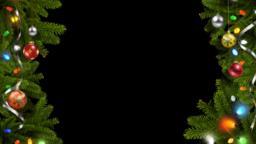 Christmas Frame CG動画