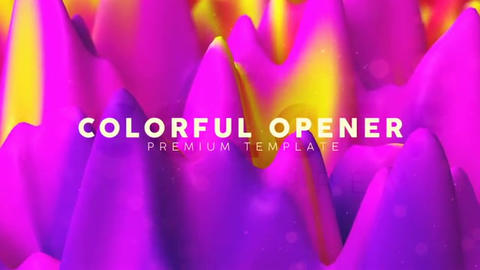 Colorful Opener After Effects Template