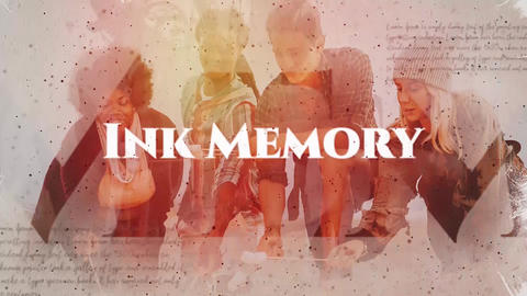 Ink Memory Premiere Pro Template