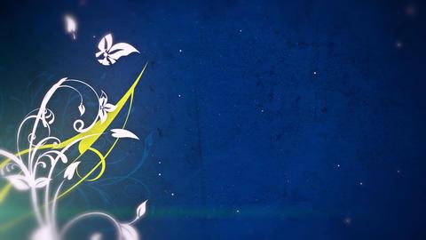 Flower Power Motion Background - 3 Animation