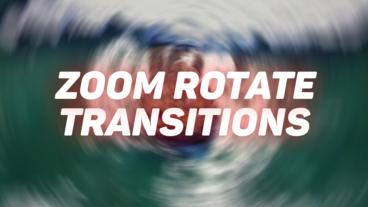 Zoom Rotate Transitions Premiere Pro Effect Preset