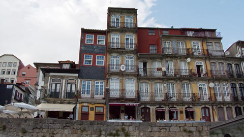 The historic district of Porto - CITY OF PORTO, PORTUGAL - SEPTEMBER 18, 2019 Footage