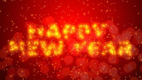 Happy New Year animation background Animation