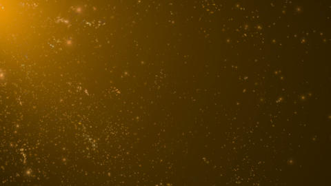 Gold Luxury Particles Background Animation