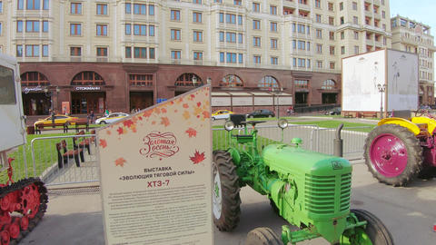 XTZ-7 tractor of Kharkov Tractor Plant Live Action