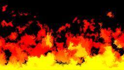 Mov180 Cartoon Fire Loop Alpha