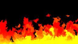 Mov180 Cartoon Fire Loop Alpha 0