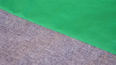 Green Gray Fabric Cloth Live Action