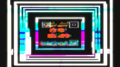 Rich Logo Glitch After Effects Template
