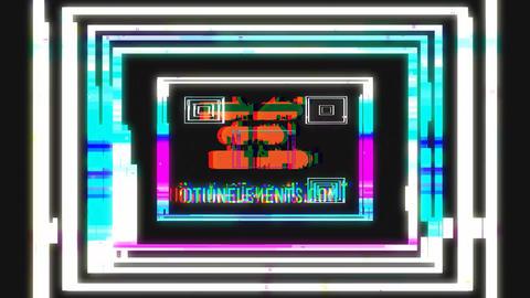 Rich Logo Glitch After Effectsテンプレート