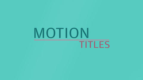 Clean Titles Reveal - Essential Graphics MOGRT モーショングラフィックステンプレート