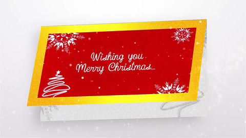 Christmas Greetings Card After Effects Template