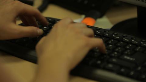 keyboard,typing Stock Video Footage