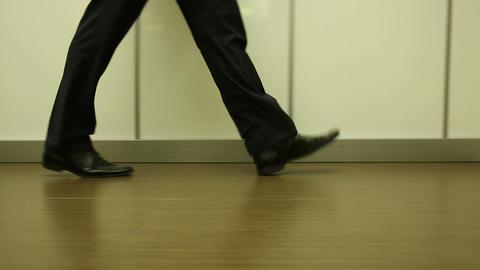 men step 02 Stock Video Footage