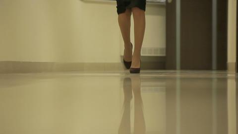 women step 02 Stock Video Footage