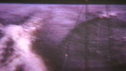 Fishing Trip 1960 Vintage 8mm film Stock Video Footage