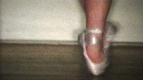 Ballet Dancer 1958 Vintage 8mm film Footage