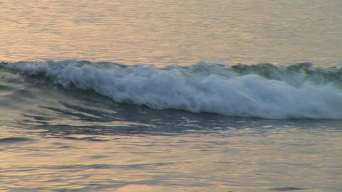 wave in the sea Stock Video Footage