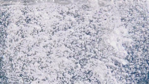 Stream of aerated water Stock Video Footage