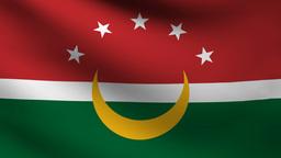 Maghreb flag Animation
