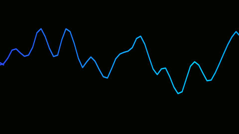 graphic signal Stock Video Footage