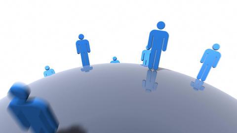 Blue People Animation
