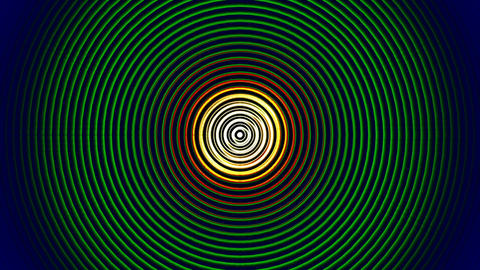 Crazy Shiny Circles Background 5 Stock Video Footage