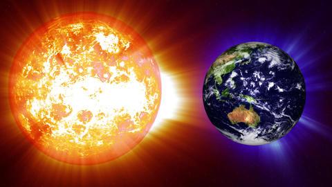Earth Global Warming Change 2 Stock Video Footage
