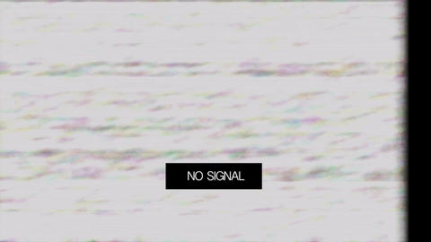 Loss Signal Noise 8 Stock Video Footage