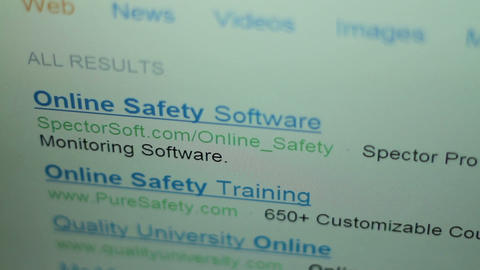 20101221 Online Safety 01 Stock Video Footage