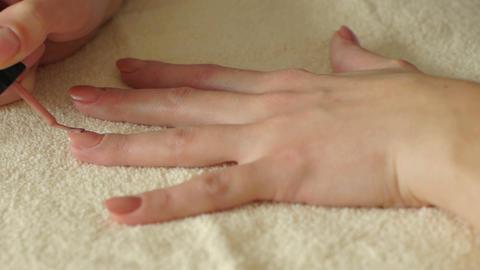 Making Manicure Footage