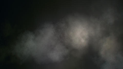 Loopable Dark Smoky Clouds Background stock footage