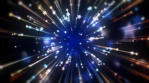 Shooting Stars Motion Background - 9 Animation