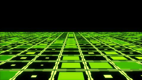 Moving technologic squares Animation