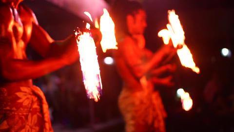 Fiji Fire dance 07 Footage