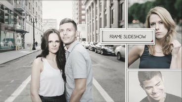 Frame Slideshow After Effects Project