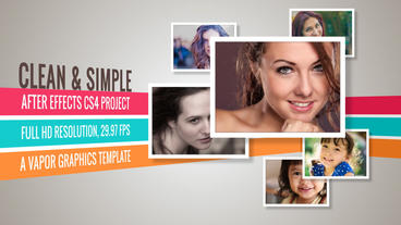 Clean And Simple - After Effects Template After Effects Project