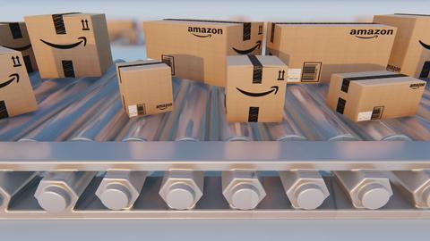 Amazon Prime Boxes Animation